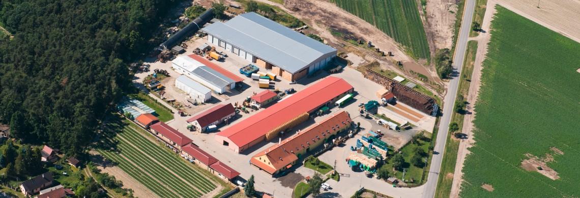 Вид с воздуха на территории кампуса