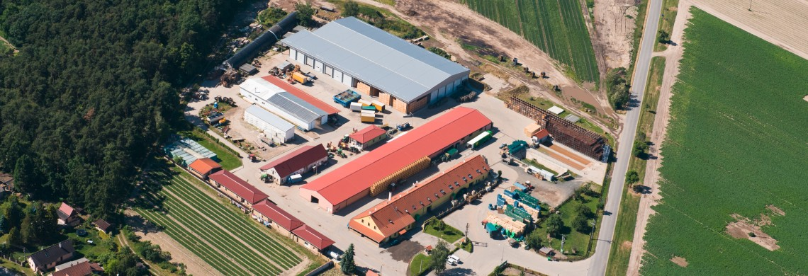 Luftaufnahme des Campus